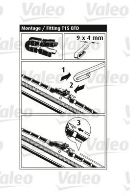 116365 К-т щеткок стеклоочистителя MB Viano 700+650мм