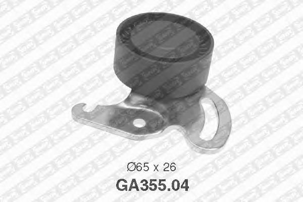 GA35504 Натяжитель ремня приводного RENAULT MEGANE/SCENIC/CLIO/LOGAN 1.4-1.6 03-