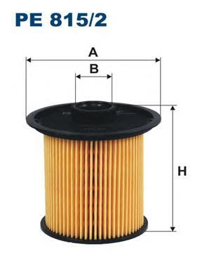 PE8152 Фильтр топливный RENAULT LAGUNA/MEGANE TDI/dTi/dCi