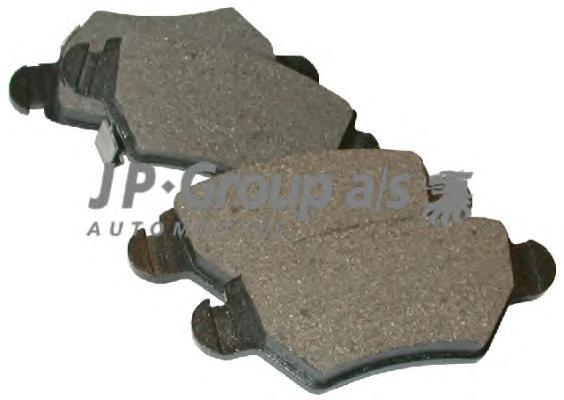 1263700210 Колодки тормозные дисковые задние / OPEL Astra-G,Zafira