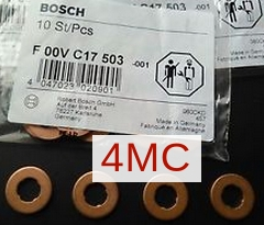 F00VC17503 Кольцо уплотн. форс. MB/BMW/VOLVO