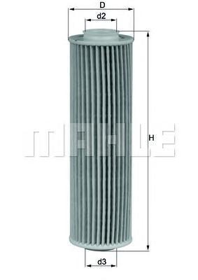 OX1835D1 Фильтр масляный MB W203/204/211/C209 1.6/1.8 Kompressor/SPRINTER (906) 1.8