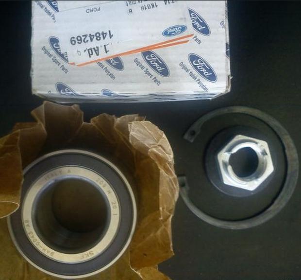 1484269 Подшипник ступицы переднего колеса (c ABS) / FORD Transit Connect 02 ~