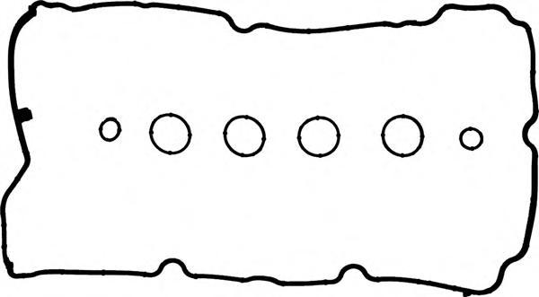 153763301 Прокладка клапанной крышки Citroen. Peugeot 1.4-1.6 16V EP3/EP6 09