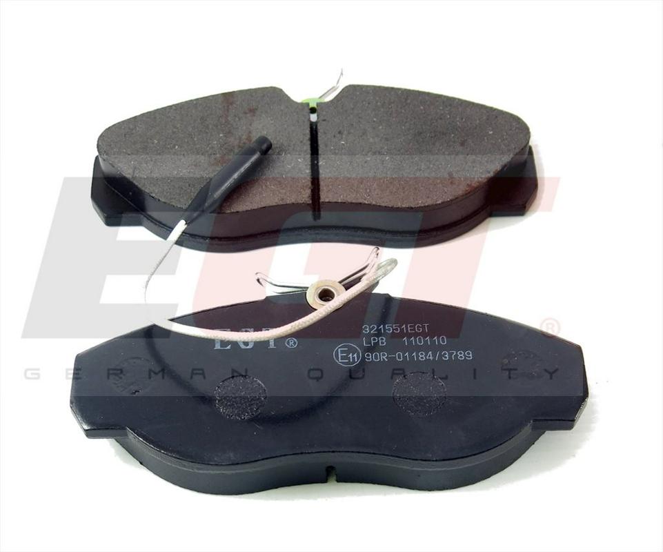 321551EGT Колодки тоpмозные дисковые СТАНДАPТ