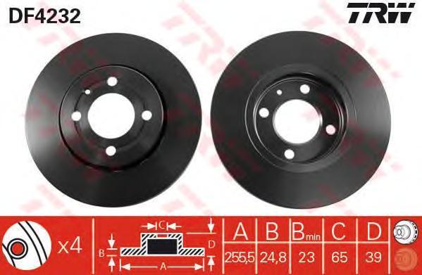 df4232 Тормозной диск
