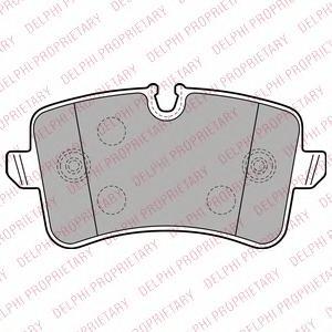 LP2249 Колодки тормозные AUDI A6/A7 10- задние