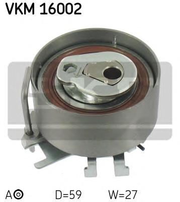 VKM16002 Натяжитель ремня ГРМ RENAULT CLIO/KANGOO 1.2 01-
