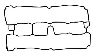 1542623 Прокладка клап. крышки OР Vectra B, Astra G 1,8