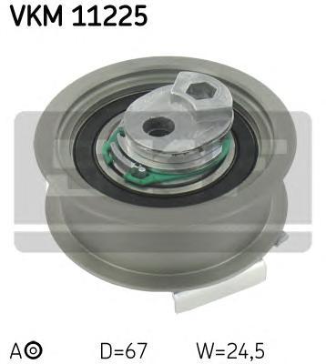 VKM11225 Ролик натяжителя ГРМ AUDI, SEAT, VW A1, A3 (8P1), A3 Sportback (8PA),