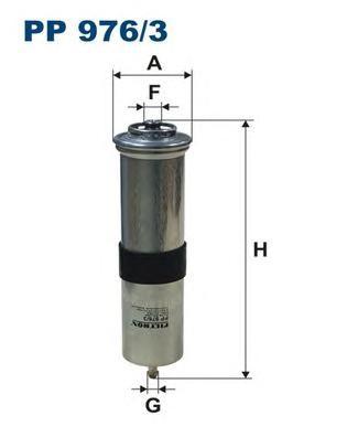 PP9763 Фильтр топливный BMW E90/E84/F25 2.0D-3.0D