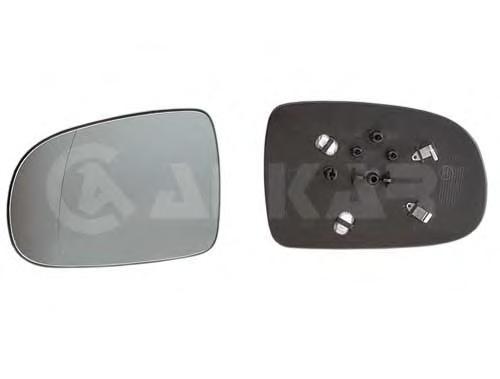 6451420 Стекло зеркала левое / OPEL Corsa-C