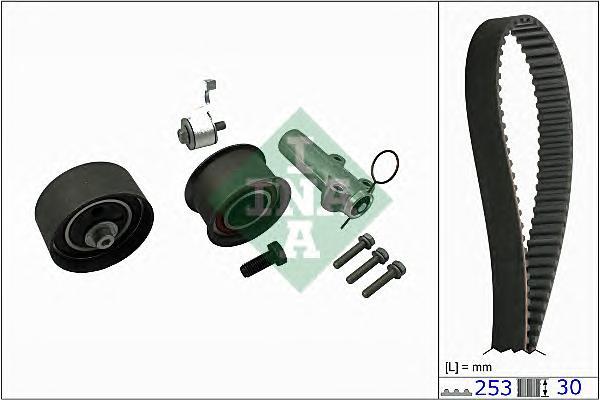 530017910 Комплект ремня ГРМ AUDI A4/A6/A8/VW PASSAT B5 2.4-2.8