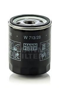 W71328 Фильтр масляный LAND ROVER FREELANDER 1.8-2.5/ROVER 100/200/400/75/800 1.1-2.0
