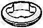 256937 Кольцо уплотнительное AUDI 100 / A6 1.9-2.8 90-97