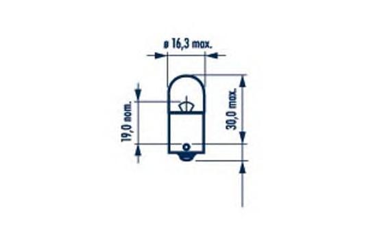 17326 Лампа R10W 24V 10W (BA15s)