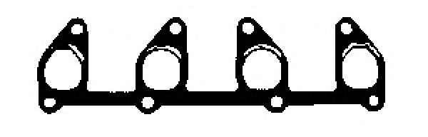 X8160501 Прокладка выпускного коллектора OPEL