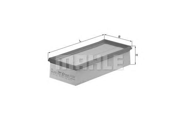 LX10083 Фильтр воздушный MITSUBISHI COLT 04-/SMART