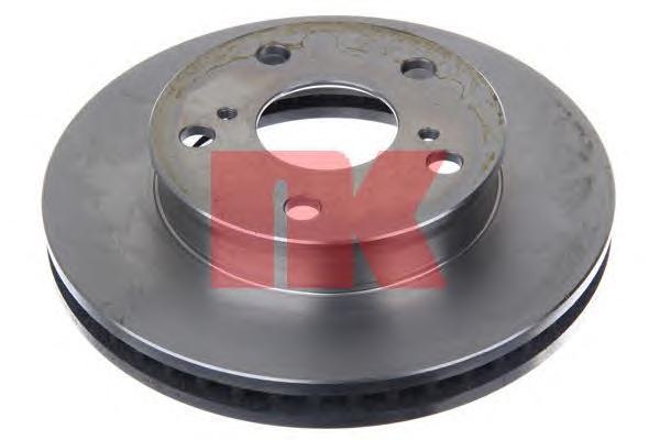 2045137 Диск тормозной TOYOTA HILUX 06- передний вент.D=255мм.