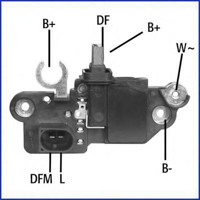 130608 Регулятор генератора VAG A6, MB, MINI