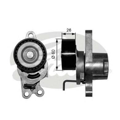 T39055 Натяжитель ремня приводного PEUGEOT 206 1.1-1.6 98-