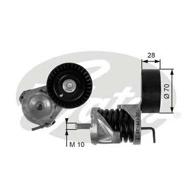 T39085 Натяжитель ремня приводного BMW E81/87/90 1.6-2.0