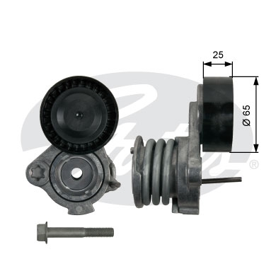 T39239 Натяжитель ремня приводного CHEVROLET CAPTIVA/CRUZE 2.0D 05-