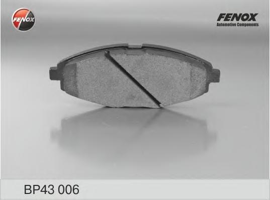 BP43006 Колодки тормозные DAEWOO NEXIA/LANOS/MATIZ SOHC передние