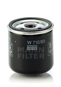 W71280 Фильтр масляный SKODA/SAAB 1.0/3.0