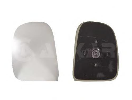 6401959 Стекло зеркала левое, верхнее / FORD Transit  08/94-03/00