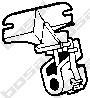 255191 Подвеска глушителя PEUGEOT 307 1.4-2.0 02-
