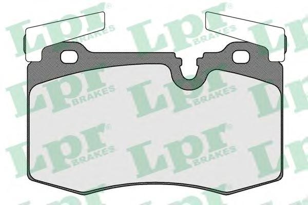 05P1556 Колодки тормозные MINI COOPER/ONE 07- передние