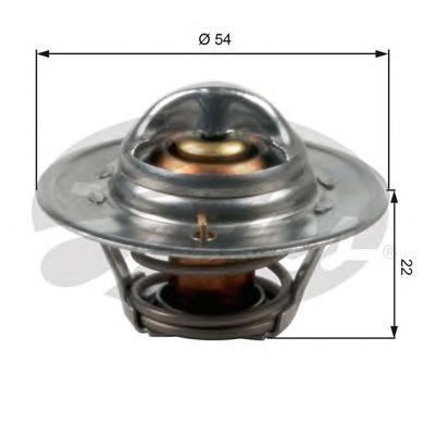 TH12792G1 Термостат FORD KA 1.0-1.3 96-08 / MAZDA 121 1.3 96-