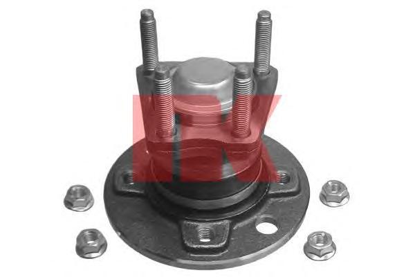 763614 Ступица с подшипником OPEL ASTRA F/G/VECTRA A/B 91-05 зад. -ABS (4отверстия)