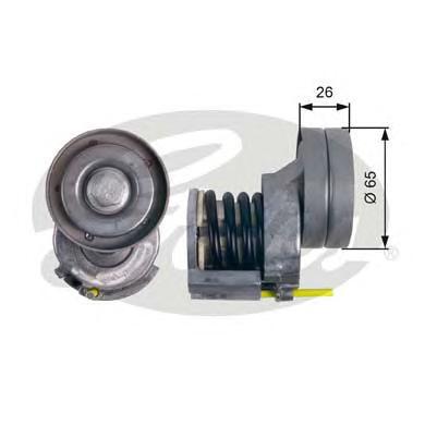 T39023 Натяжитель ремня приводного VW GOLF/PASSAT 1.4 TSI 05-