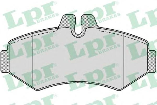 05P956 Колодки тормозные MERCEDES W463/SPRINTER 97/VOLKSWAGEN LT 9602 задние