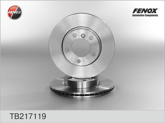 TB217119 Диск тормозной BMW E36 318-328 90-98/E46 316-323 98-05 передний D=286мм