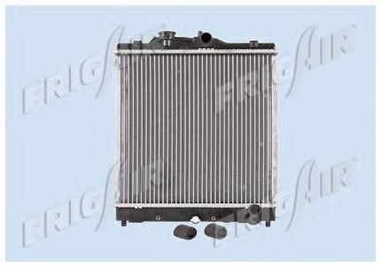 01192002 Радиатор, охлаждение двигателя