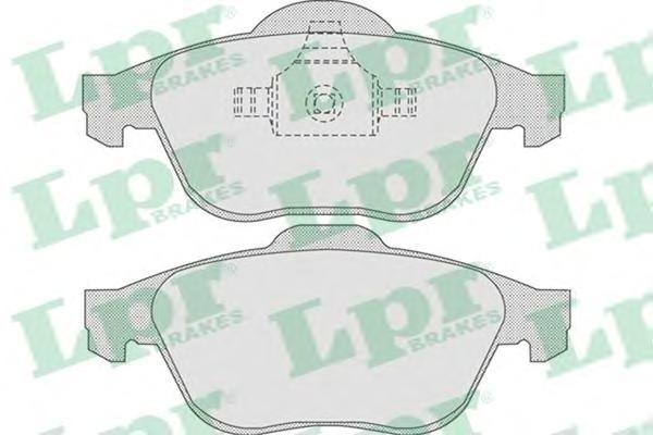 05P864 Колодки тормозные RENAULT LAGUNA 01-/SCENIC 03- передние