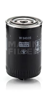 W94025 Фильтр масляный VW G2/G3/PASSAT/TRANSPORTER/AUDI 80/100/A6 1.3D-2.5D
