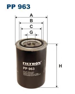 PP963 Фильтр топливный SCANIA 4-SERIES