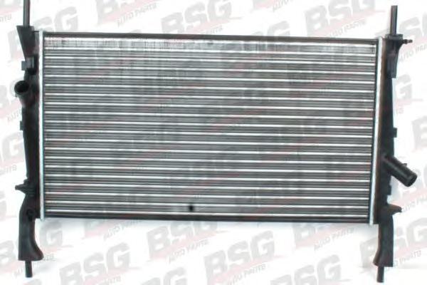 BSG30520004 Радиатор охлаждения двигателя / FORD Transit 2.2/2.4 TDCI/2.3 DOHC 04/06~