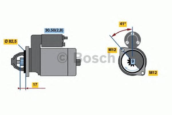 0001107427 Стартер AUDI/VW/SKODA/SEAT 1.6-2.0 2000=