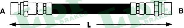 6T48155 Шланг тормозной HYUNDAI GETZ 02- задний правый