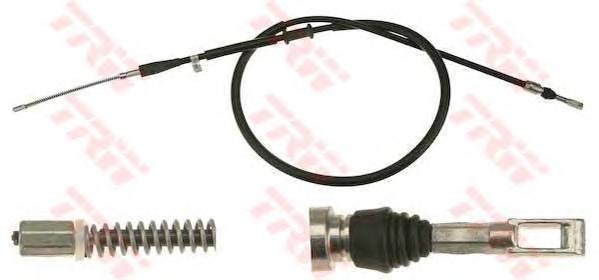 GCH1771 Трос ручника л/п Audi 80 91-94 (барабан торм)
