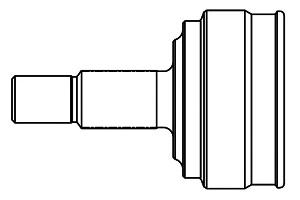 803006 ШРУС AUDI 80/90/100/200 1.8-2.3 77-91 нар. +ABS