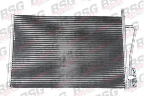 BSG30525003 Радиатор кондиционера / FORD Fiesta-V,Fusion;MAZDA-2 1.25-1.6 01~