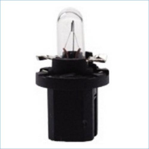 17035 Лампа 12V 1.2W BAX10D black