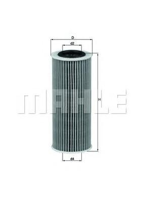 OX368D1 Фильтр масляный BMW E87/E46/E90/E60/E65/X3 1.8D-4.5D