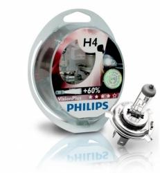 12342VPS2 Лампа H4 VisionPlus 12V 60/55W P43t-38 (компл.2шт)